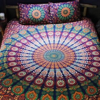 home accessory by the moon mandala boho duvet duvet set peppermayo