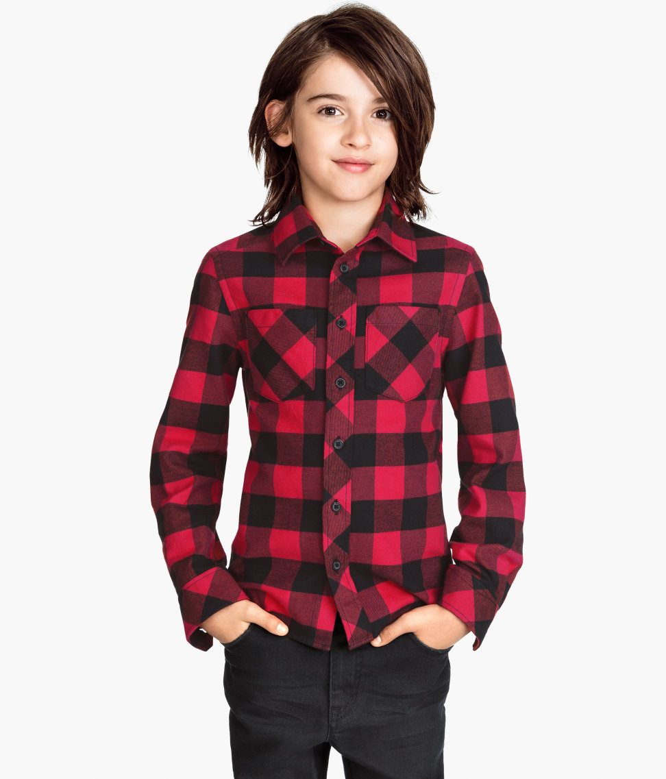 H&M Checked flannel shirt £9.99