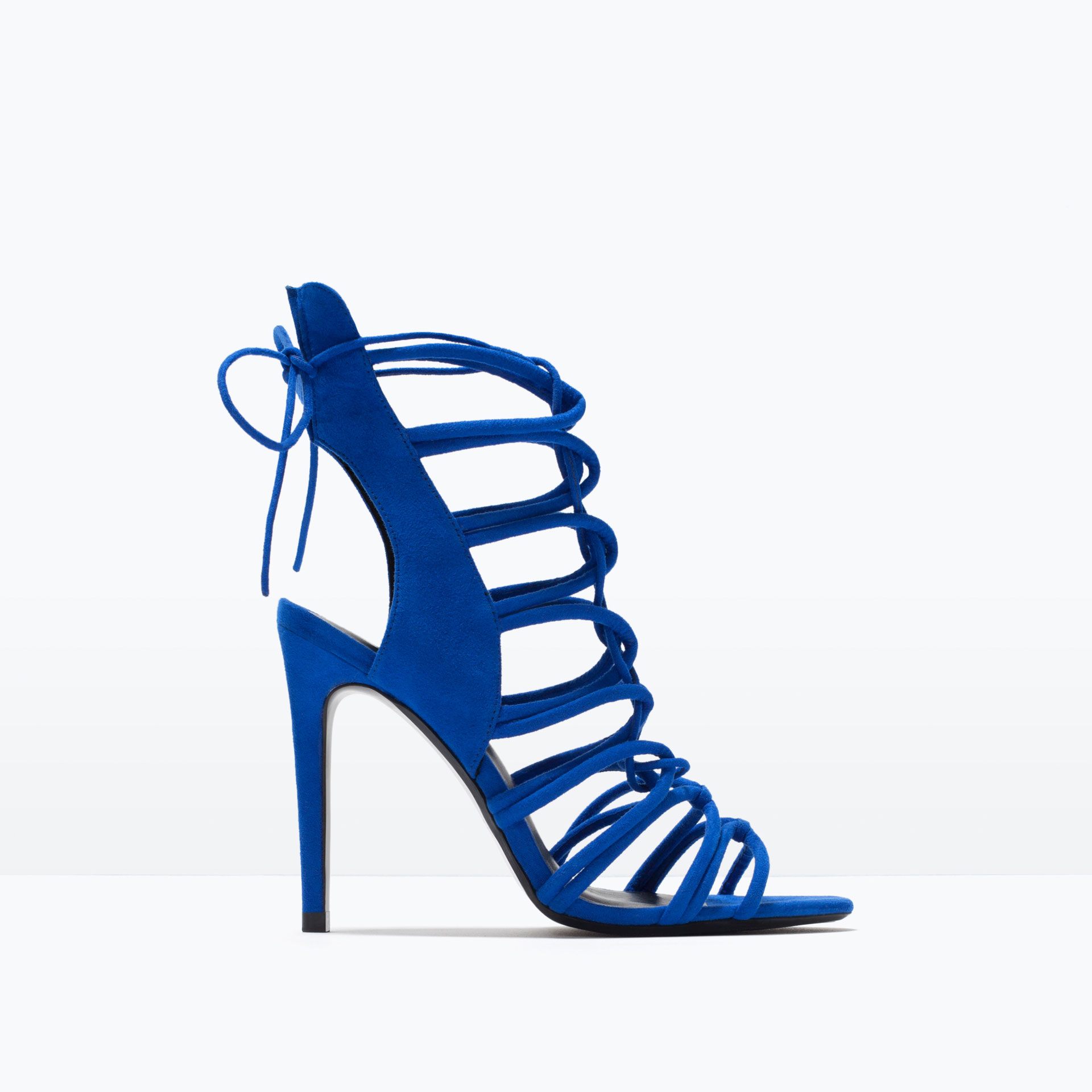 HEEL STRAPPY SLINGBACK SANDALS - View all - Shoes - WOMAN | ZARA ...
