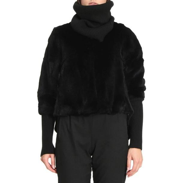 Twin-Set jacket women black