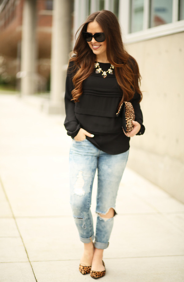 fa403ae9c57 dress corilynn blogger top jeans shoes bag jewels sunglasses.