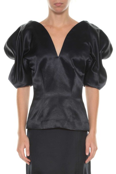 Jacquemus top butterfly navy blue