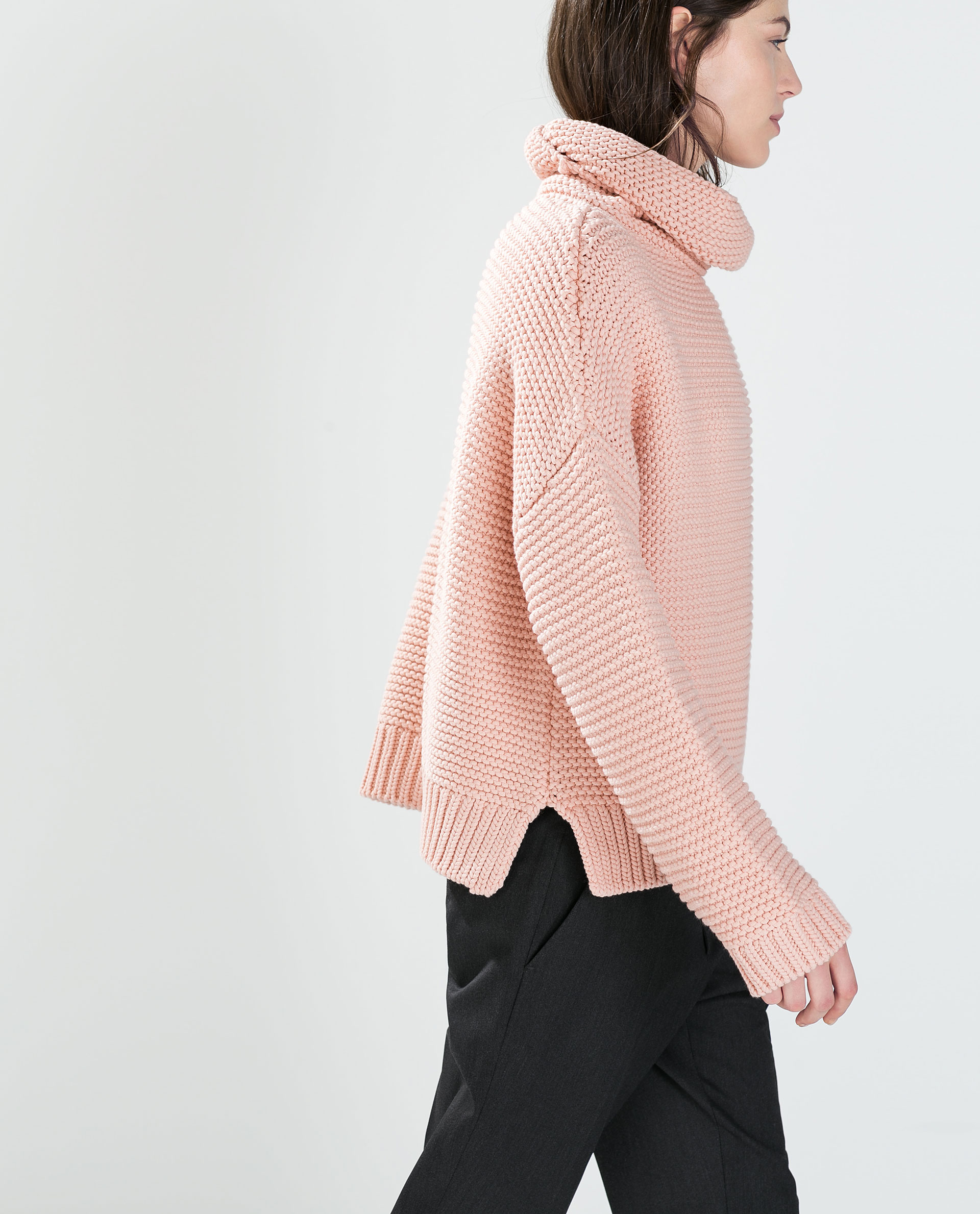 a05b0a65 HIGH NECK SWEATER - Knitwear - WOMAN | ZARA France