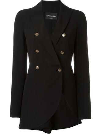 jacket slit black