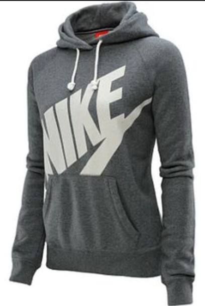 coat jacket sweater nike grey and white nike nike. Black Bedroom Furniture Sets. Home Design Ideas