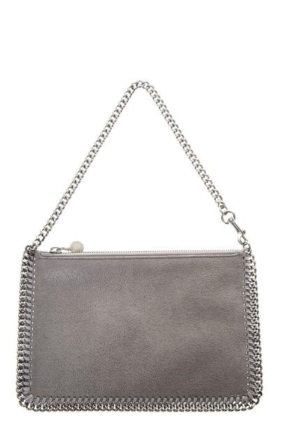Stella McCartney deer light purse grey bag