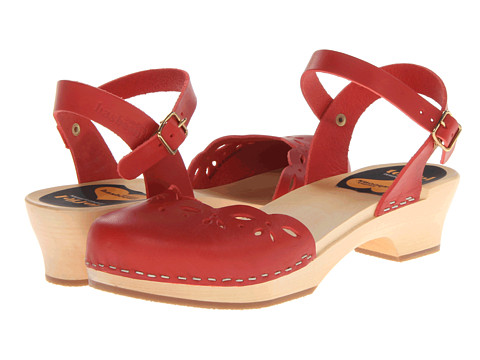 Swedish Hasbeens Haga Red - Zappos.com Free Shipping BOTH Ways