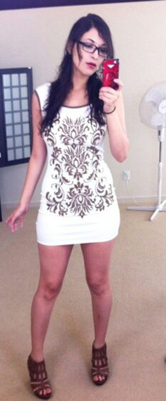 high heels cute dress white dress shortdress