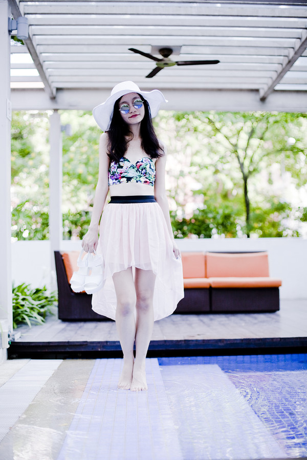 pupuren swimwear sunglasses shoes skirt