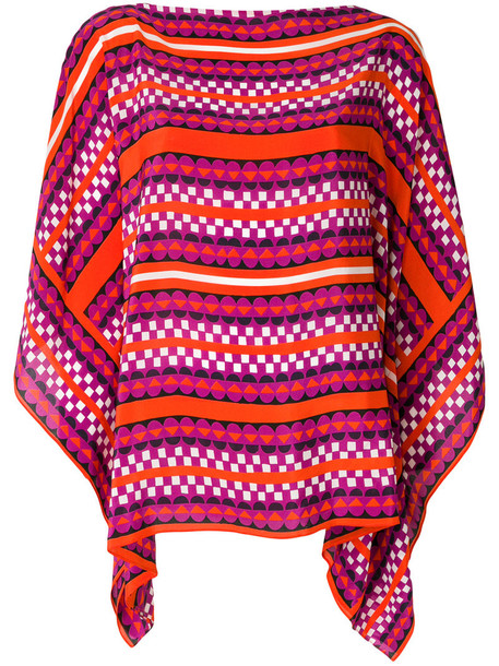 Holland Street top women silk
