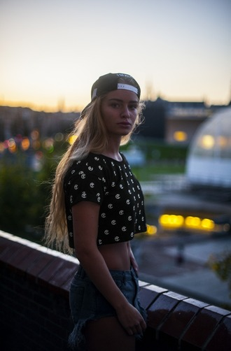 shirt crop tops yellow claw blouse