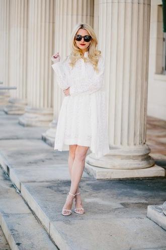 atlantic pacific blogger sunglasses white dress dress shoes