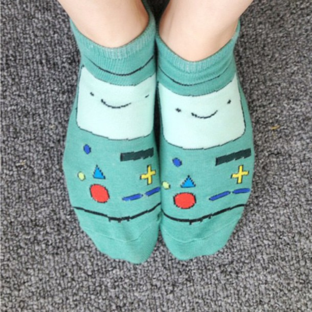 socks bmo adventure time bemo - Adventure Time Socks - Shop For Adventure Time Socks On Wheretoget