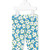 Stella Mccartney Kids - floral print leggings - kids - Cotton - 6 mth, Blue