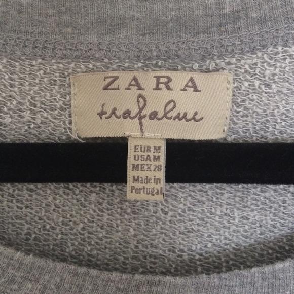 Zara skull sweater from kay's closet on poshmark
