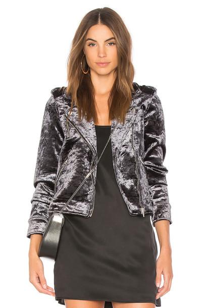 BLANKNYC jacket velvet