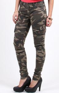 Creative ESSENTIALS CAMO CARGO PANT  Green  Jimmy Jazz  JJA763U3