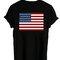 Usa flag shirt back