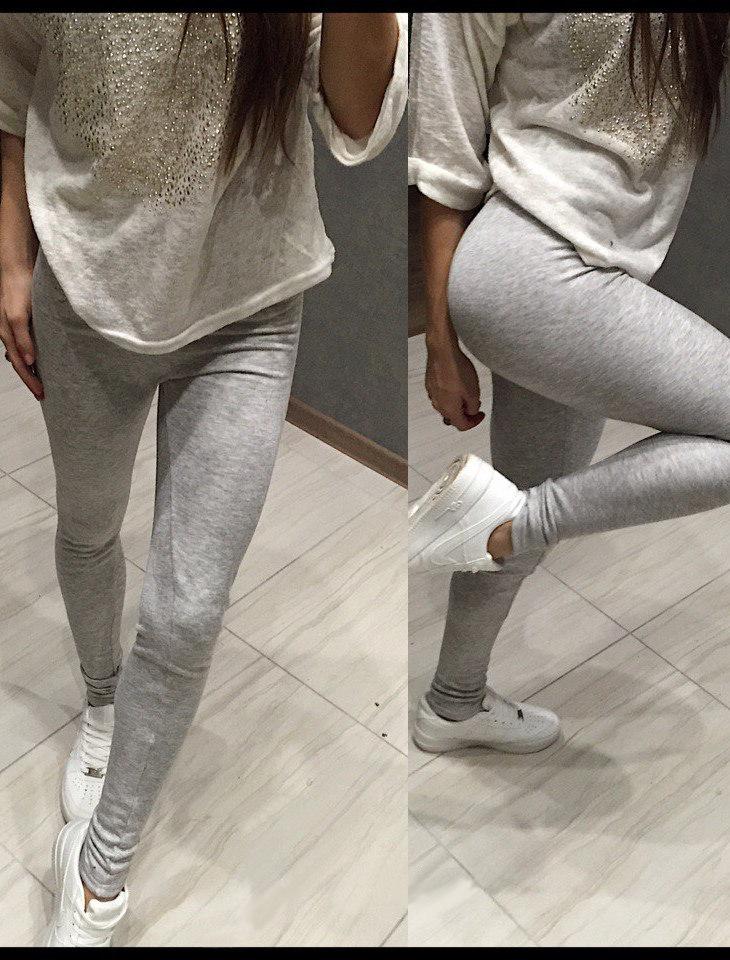 Women's Warm Slinky Cotton Faux Fur Leggings