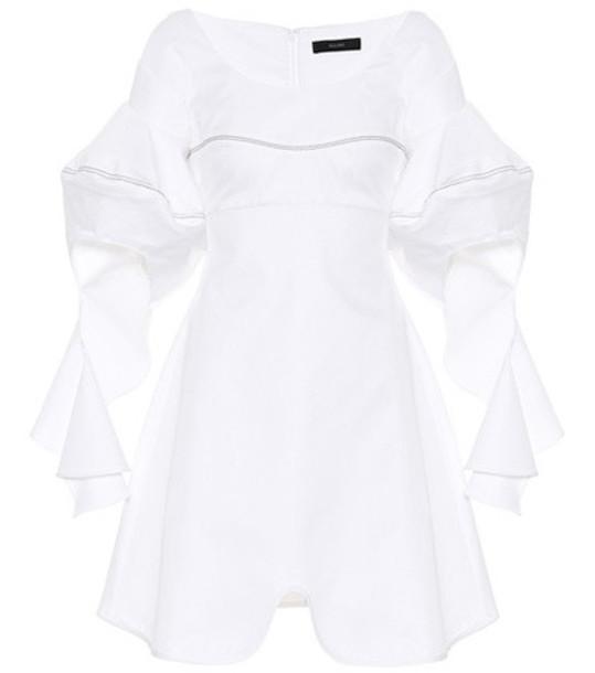 Ellery Cotton dress in white