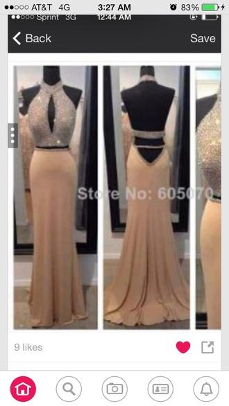 evening dress prom dress halter dress celebrity style