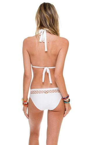 swimwear bikini bottoms luli fama white bikiniluxe