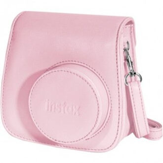 jewels camera case baby pink crossbody bag