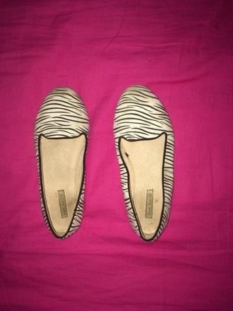 shoes black and white zebra