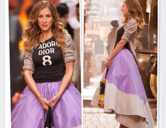 carrie bradshaw sex and the city sarah jessica parker