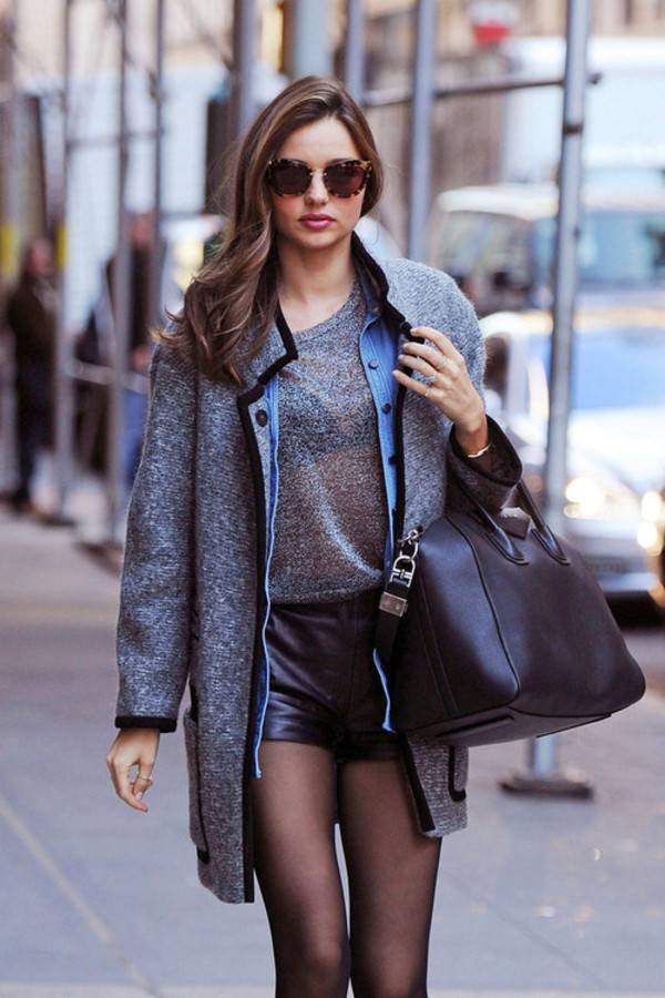 shorts clothes miranda kerr sunglasses
