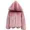 Fashion winter faux fox fur coat women autumn parkas warm thicken shorts hooded jackets black pink fur coats female streetwear-in faux fur from women's clothing & accessories on aliexpress.com | alibaba group