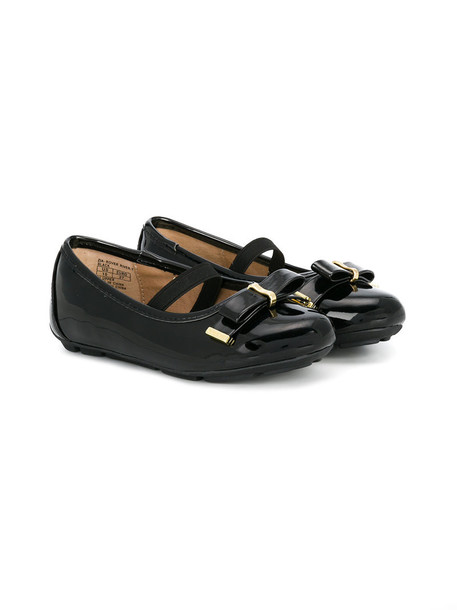 Michael Kors Kids plastic shoes leather black