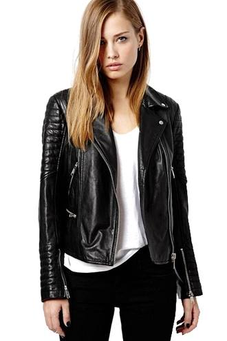jacket zaful black black jacket zip faux leather biker jacket sexy alternative alternative rock