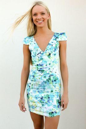 Aurora Sky Dress - Jada Blue