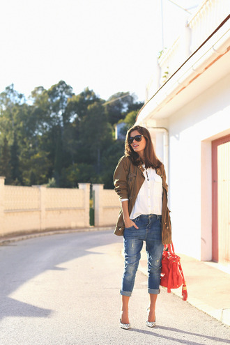 seams for a desire blogger coat shirt jeans shoes bag sunglasses