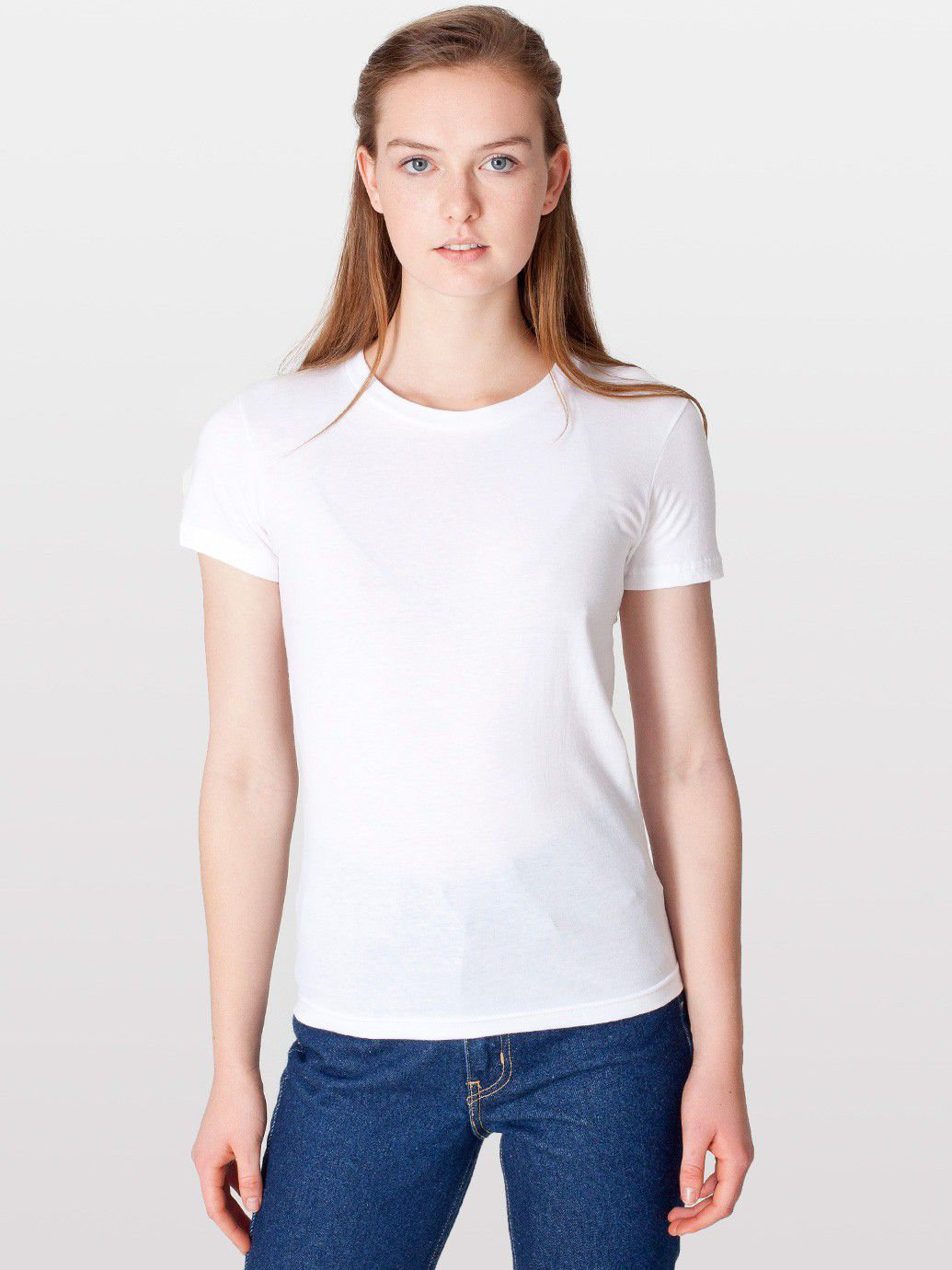Fine Jersey Short Sleeve Women's T | American Apparel