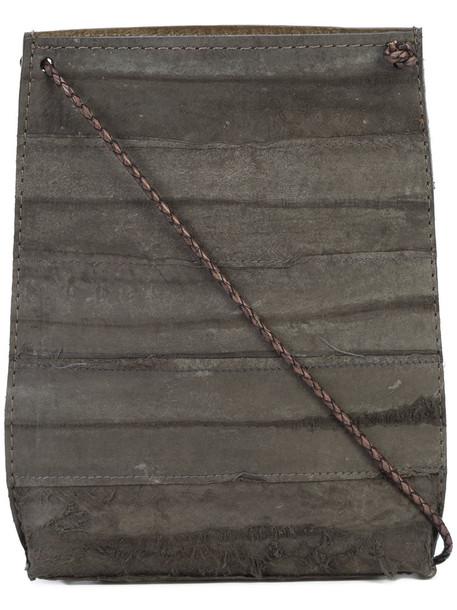 B May women pouch grey bag