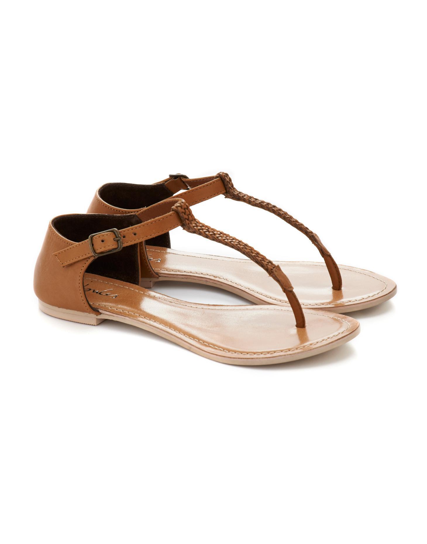 Tan Livvie Womens Sandal  | Joules US