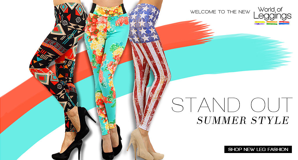 World of Leggings | Women's Leg Fashion