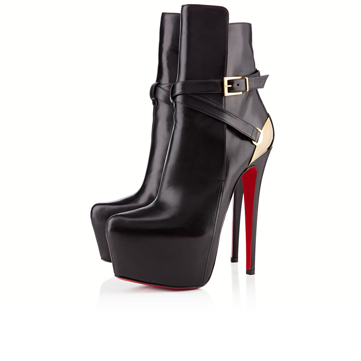 innovative design 6a5b6 67f9f Christian Louboutin Store|Christian Louboutin Boots Equestria Black Gold.