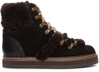 boots lace black black lace shoes