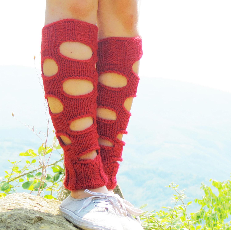 Black leg warmers crochet boot socks crochet knee socks peep socks leg