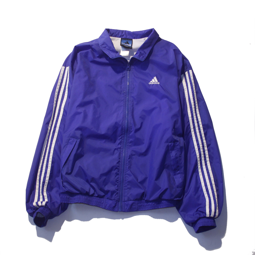 Adidas Womens Slim Padded Hoodie Jacket Royal Blue