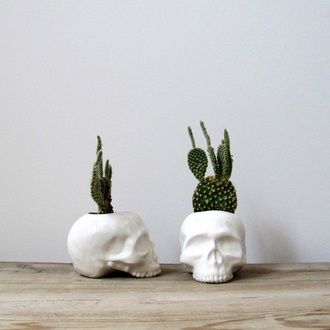 home accessory skull flowers home decor