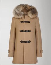 duffle coat,fur collar,faux fur,classy,classic,jacket,scotty mcgregor,cashmere,fashion,fall sweater,vintage