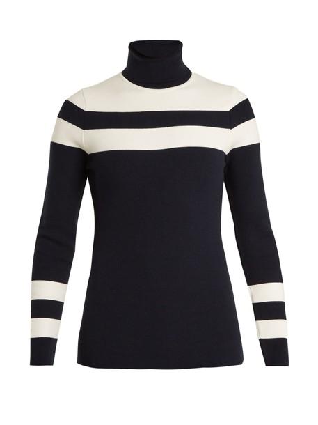 Fusalp sweater knit dark blue dark blue