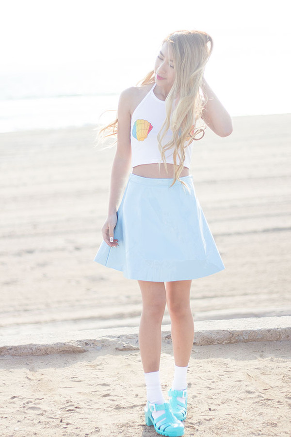 style2bones t-shirt skirt shoes