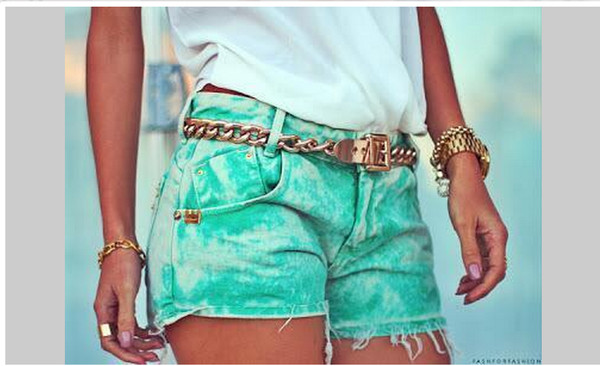 shorts green acid wash
