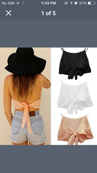 top summer top crop tops shorts
