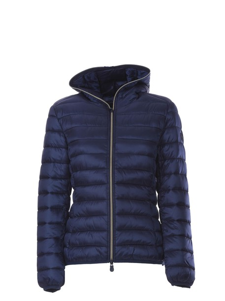 Save The Duck jacket down jacket zip blue